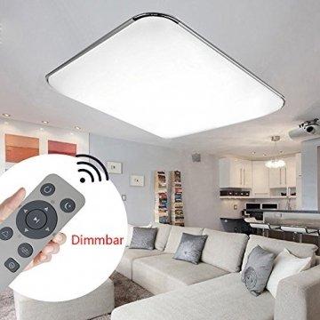 Szysd led panel deckenleuchte badleuchte deckenlampe for Deckenleuchte wohnzimmer dimmbar