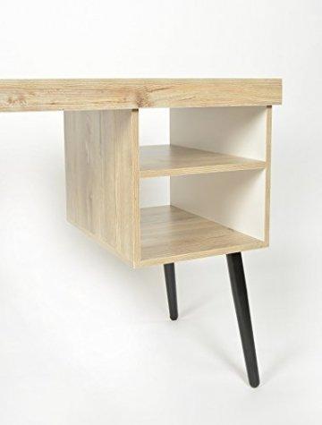 ts ideen design holz schreibtisch computer arbeitstisch. Black Bedroom Furniture Sets. Home Design Ideas