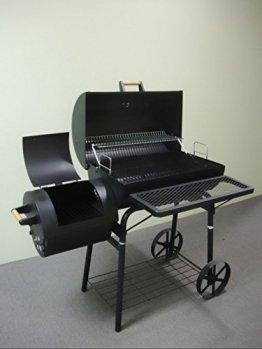 32kg - KIUG® XL Smoker LAGUNA SECA / BBQ GRILLWAGEN Holzkohle Grill Grillkamin ca. 1,5 mm Stahl PROFI-QUALITÄT OGA032 -