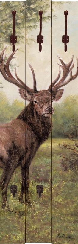 Home affaire Garderobe »Heins, A.: Hirsch«, 45/140 cm