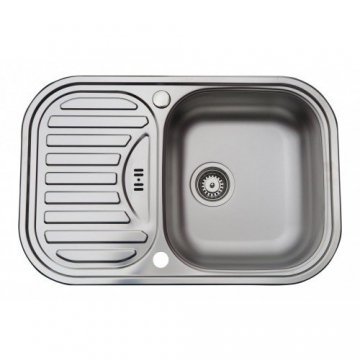 Edelstahl Küchenspüle | Spülbecken MIZZO Sino Basic 1000 | Spüle ...