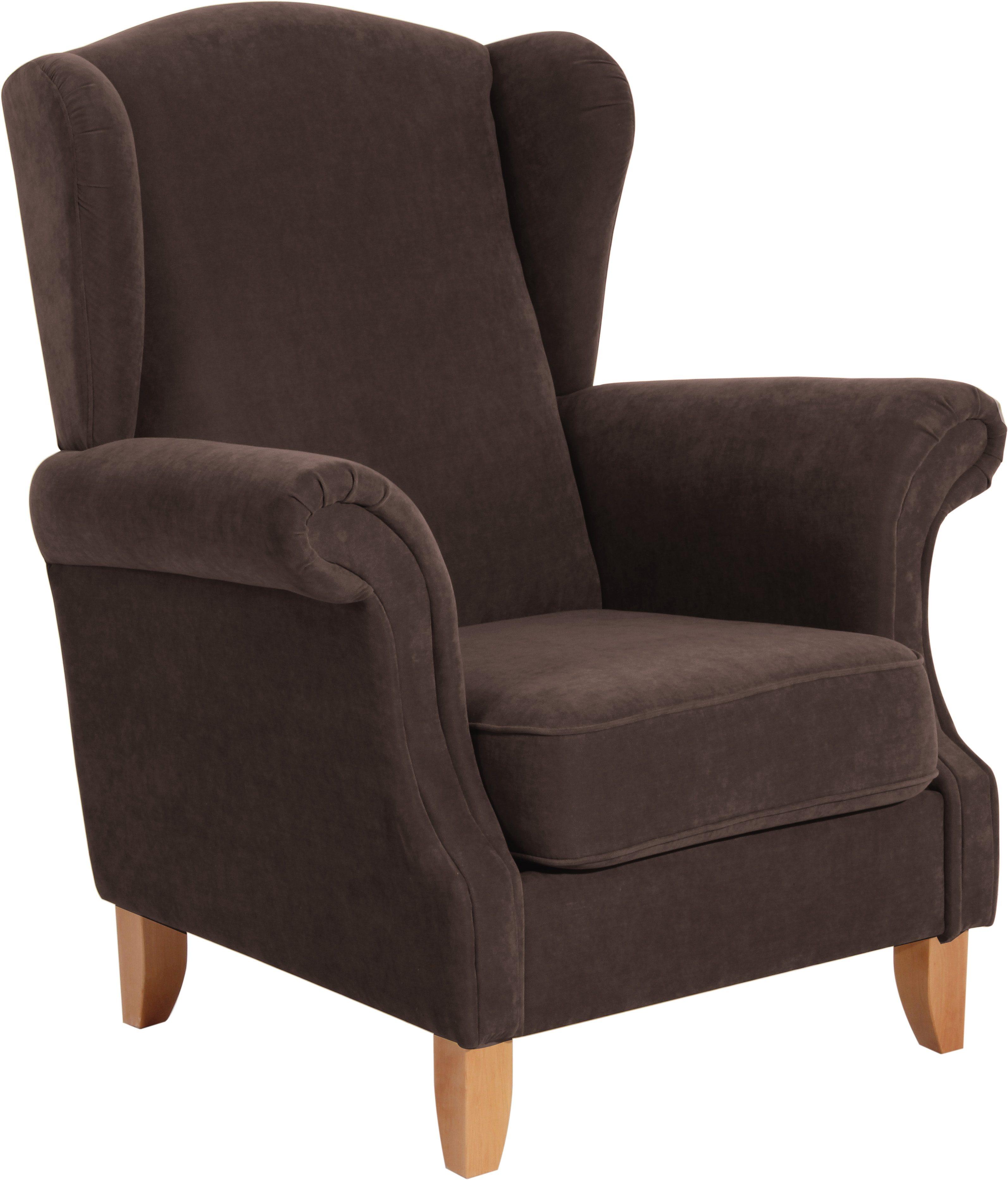 max winzer ohrensessel valentina defactodeal. Black Bedroom Furniture Sets. Home Design Ideas